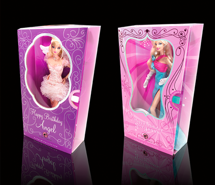 Barbie Collector Gorgeous Greetings