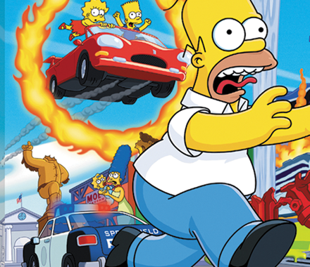 Simpsons Game Keyart